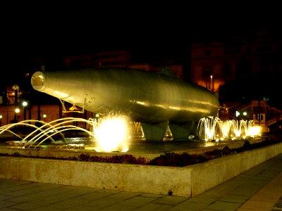 Das erste Uboot mit E-Motor und Torpedorohr