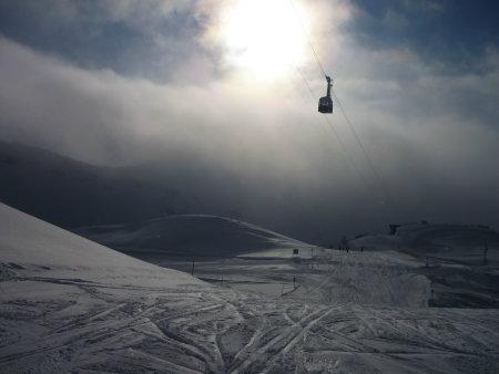 Seilbahn am Nebelhorn