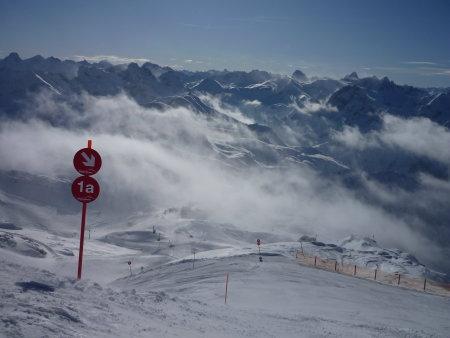 Blick vom Gipfel des Nebelhorns