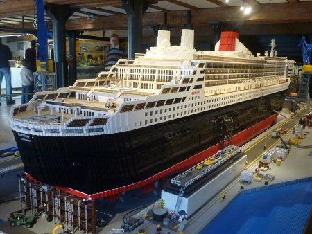 Das größte Schiffsmodell aus Legosteinen