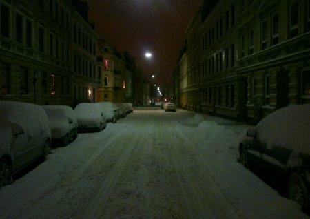 Flensburg im Schnee
