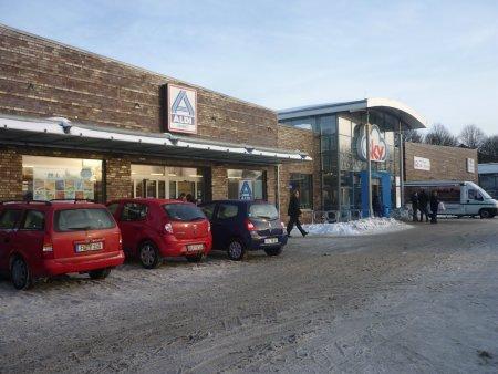 ALDI/SKY Markt in Flensburg