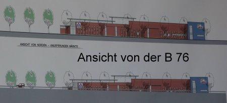 Entwurf für ALDI/SKY Komplex Klinkerteich