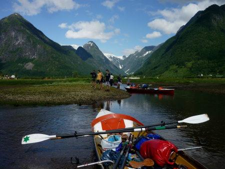 Campingplatz am Ende des Fjords