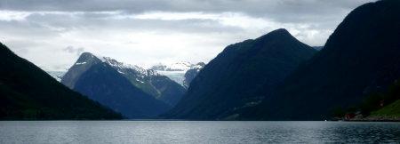 Panorama Fjaerlandfjord