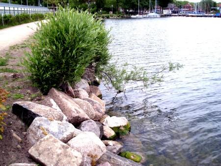 Uferbefestigung am Strandweg