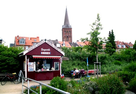 Die Strandperle an der Marktbrücke