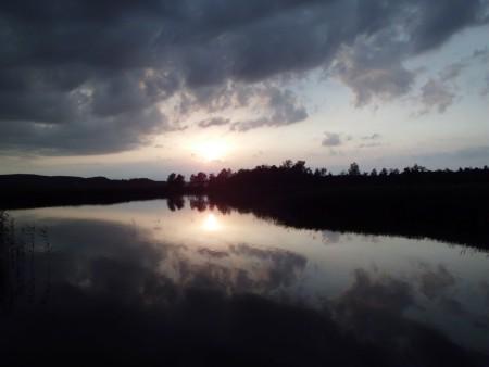 Abendstimmung am Wigry See
