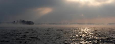 Hankenborg im Seenebel