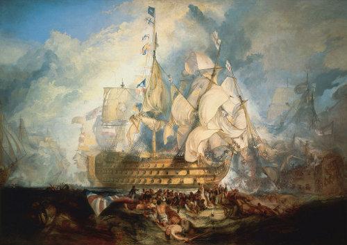 Schlachtengemälde von W. Turner, uelle Wikipedia, gemeinfrei