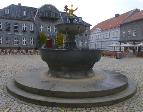Marktbrunnen in Goslar