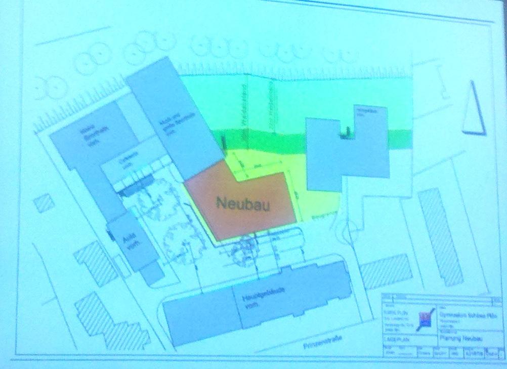 Der derzeitige Planungsstand für den Neubau.